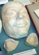Himmler death mask