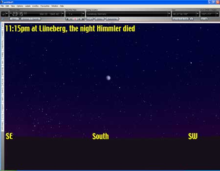 Himmler death night sky