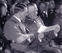 Hitler with Blomberg