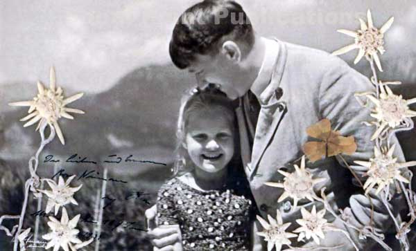 Image result for hitler smiling with child girl