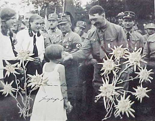 adolf hitler as child. Hitler was the first to