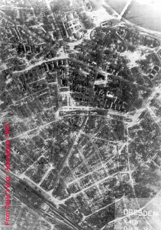 damage to Dresden
