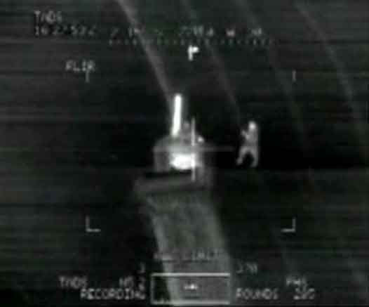 Helicopter gunship attack on Iraqis: click for video