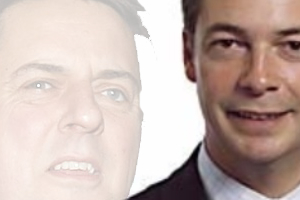 Nick Griffin, Nigel Farrage