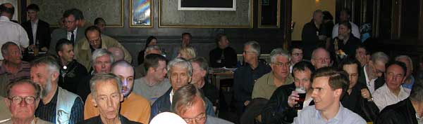 Audiecne at David Irving's Longdon talk Jun 13, 2009