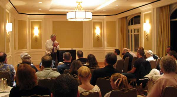 David Irving speaks at Ritz-Carlton West Palm Beach