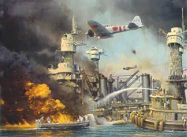 Pearl Harbor under attack